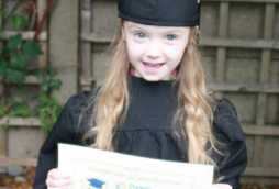Graduation at Poplars Blossoms Nursery