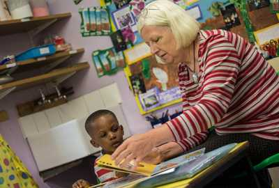 Our nursery school staff