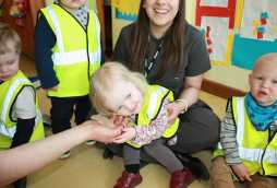 activities at poplars nursery school