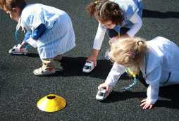 nursery activities for toddlers playing with cars